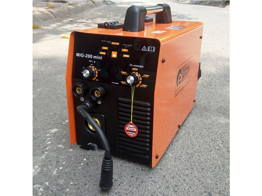 Máy hàn Mig không dùng khí Edon MIG 200 Mini