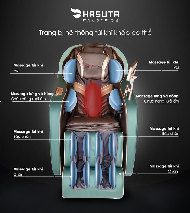 Ghế massage Hasuta