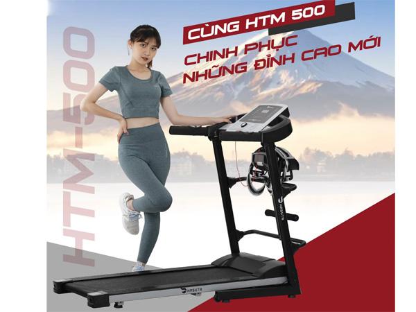 Hình ảnh máy chạy thể dục Hasuta HTM-500
