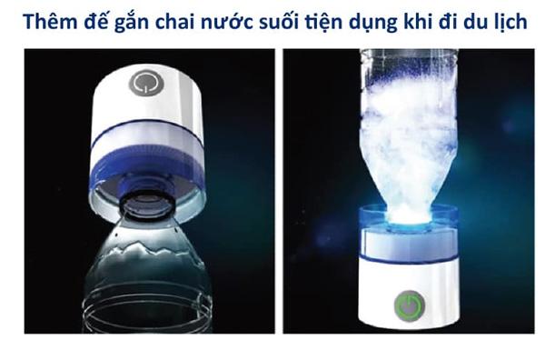 Sử dụng với nước đóng chai