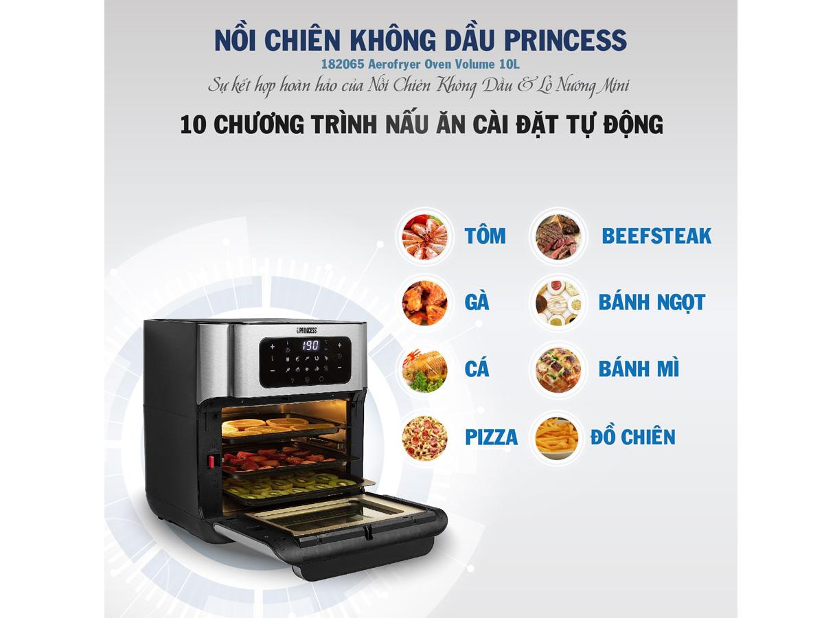 10 chế độ nấu tự động