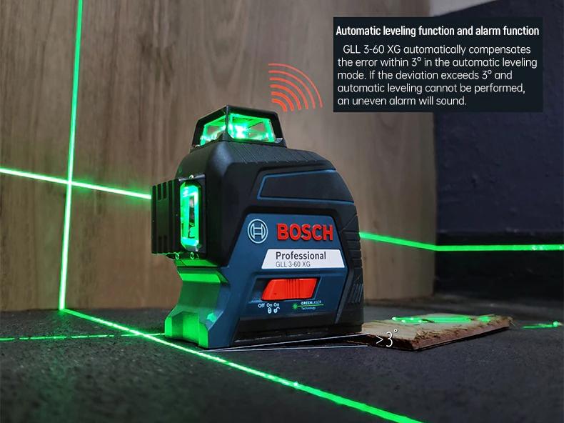 Máy cân mực laser Bosch GLL 3-60 XG