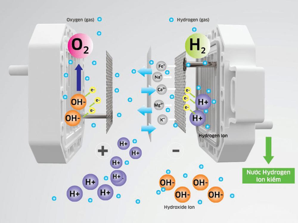 Công nghệ điện phân RO độc quyền