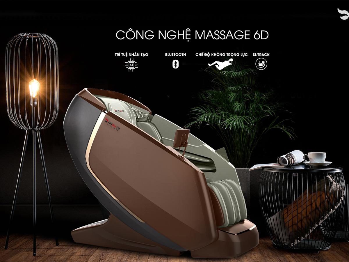 Ghế massage đem lại cảm giác thư giãn, giảm đau hiệu quả