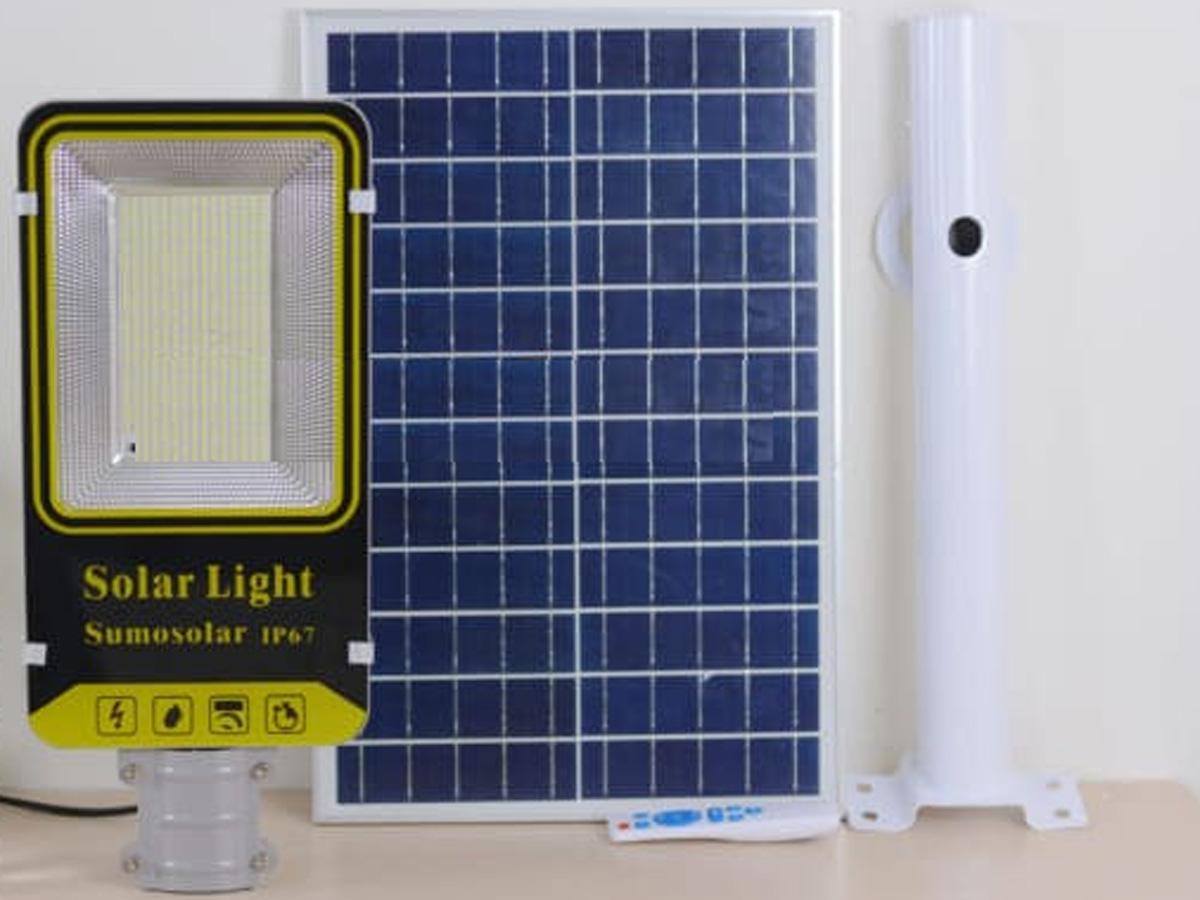 Hình ảnh đèn đường LED năng lượng mặt trời công suất lớn 200W Sumosolar NT03