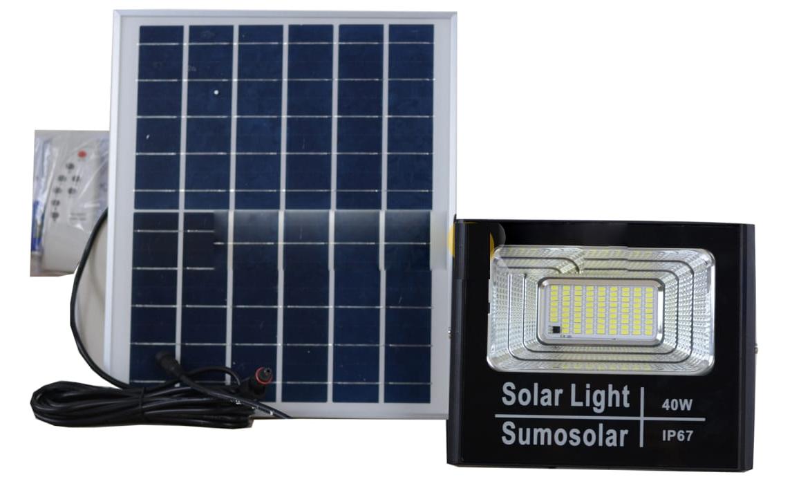Đèn pha năng lượng mặt trời Sumosolar JM-T40 - TN05