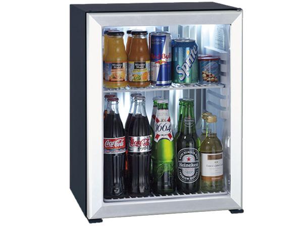 Hình ảnh minibar Primo 40 lít cửa kính viền kim loại XC40 AGD