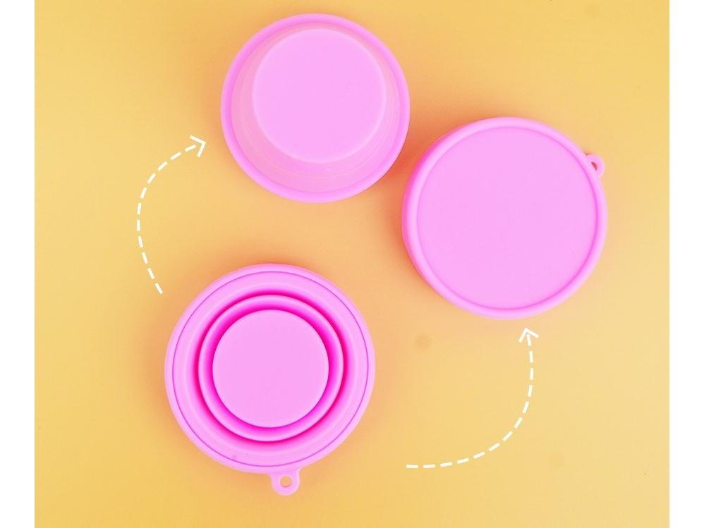 Cốc tiệt trùng thiết kế màu hồng