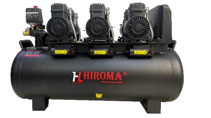 Hình ảnh máy nén khí chính hãng Hiroma DHL–0512