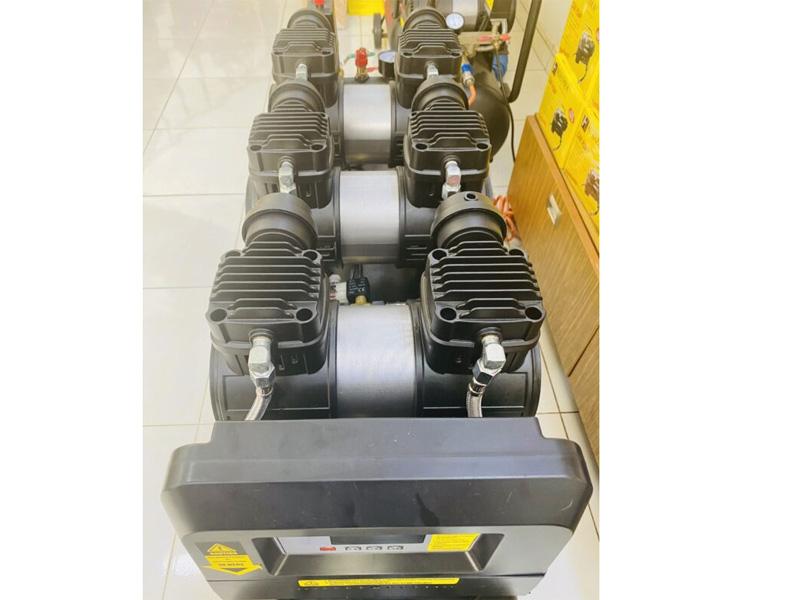 Hệ thống 6 xy lanh và 6 piston đẩy mạnh mẽ