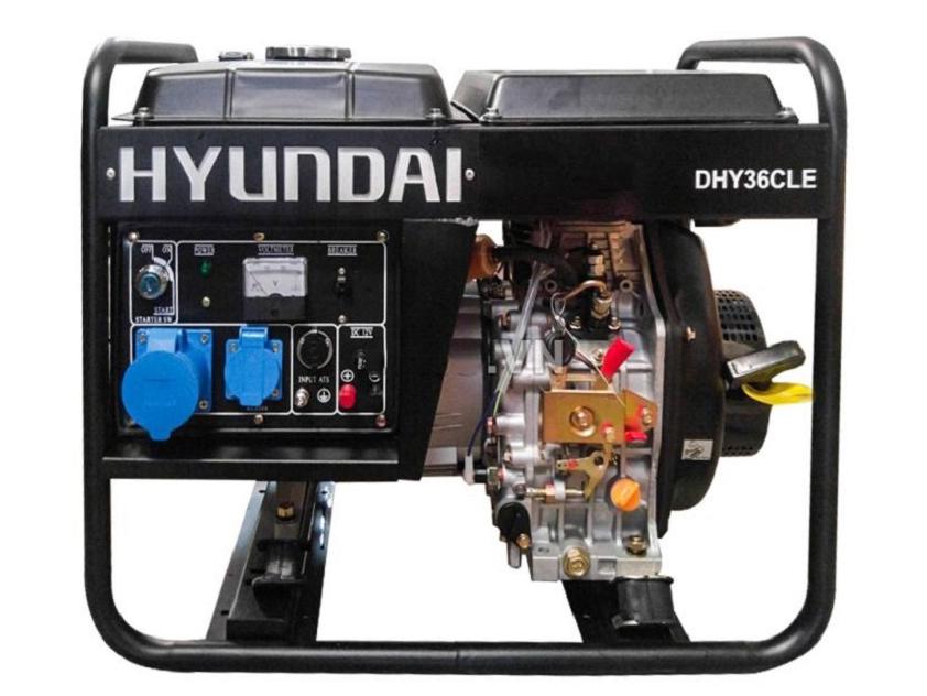Máy phát điện chạy dầu Hyundai DHY36CLE