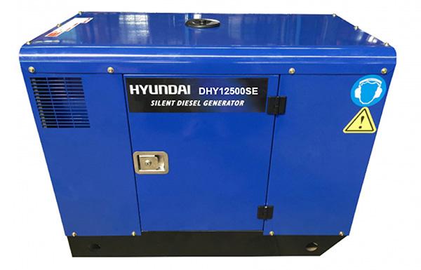 Hình ảnh máy phát điện chạy dầu Hyundai DHY12500SE (10-11kw)