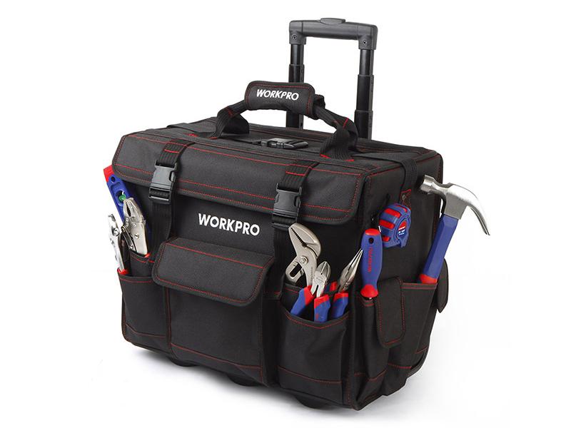 Bộ dụng cụ 176 chi tiết với xe đẩy túi