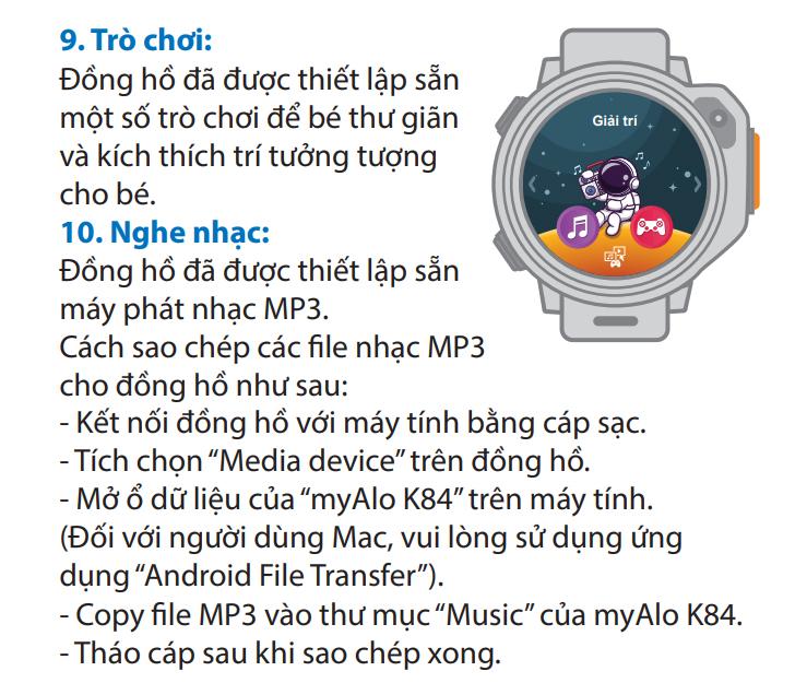 Đồng hồ nghe nhạc được
