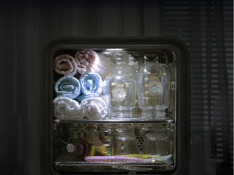 Máy tiệt trùng sấy khô bình sữa