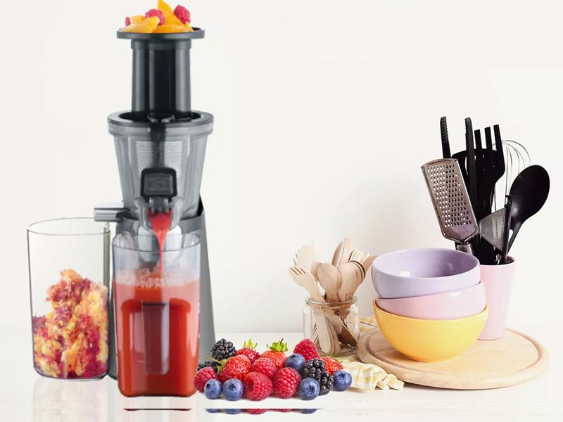 Ứng dụng công nghệ ép chậm bảo toàn chất dinh dưỡng