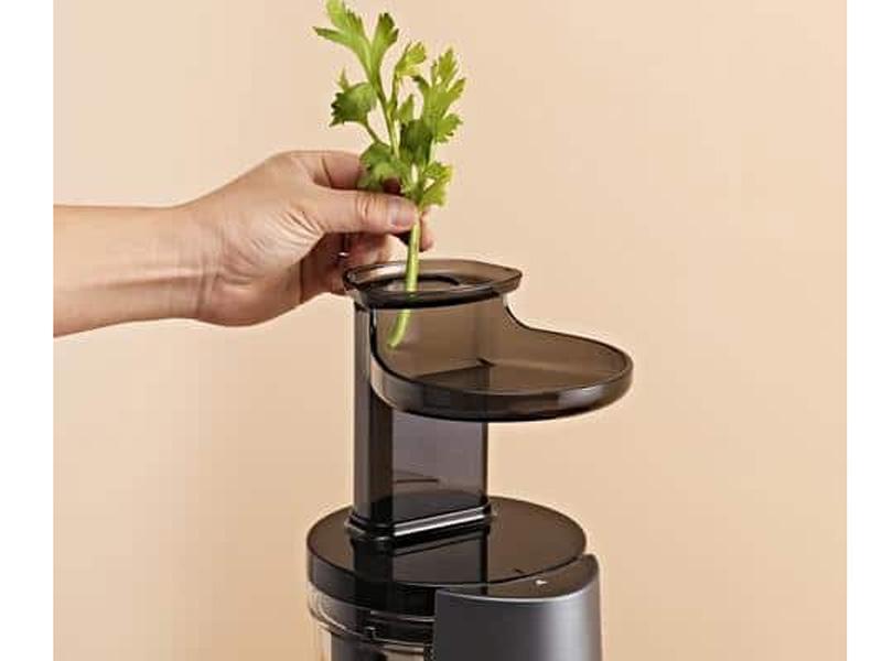 Công nghệ ép chậm bảo toàn vitamin, enzym,..
