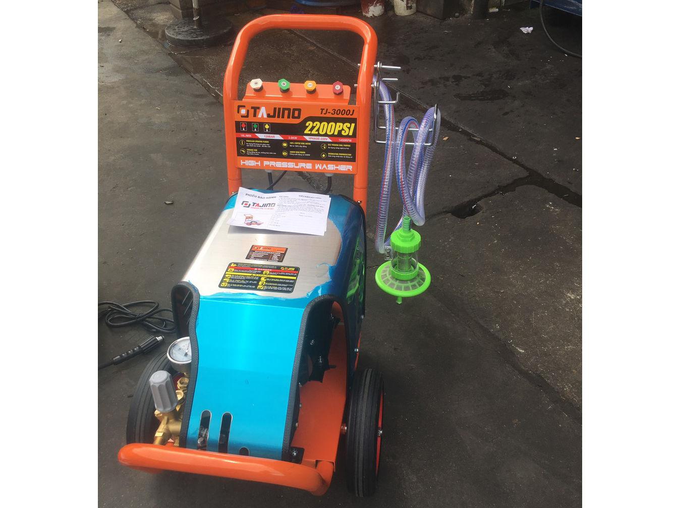 Máy rửa xe cao áp Tajino TJ-3000J