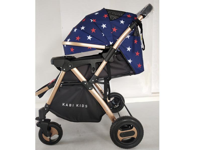Hình ảnh xe đẩy trẻ em cao cấp 2 chiều 3 tư thế gấp Kabi Kids-Baby I