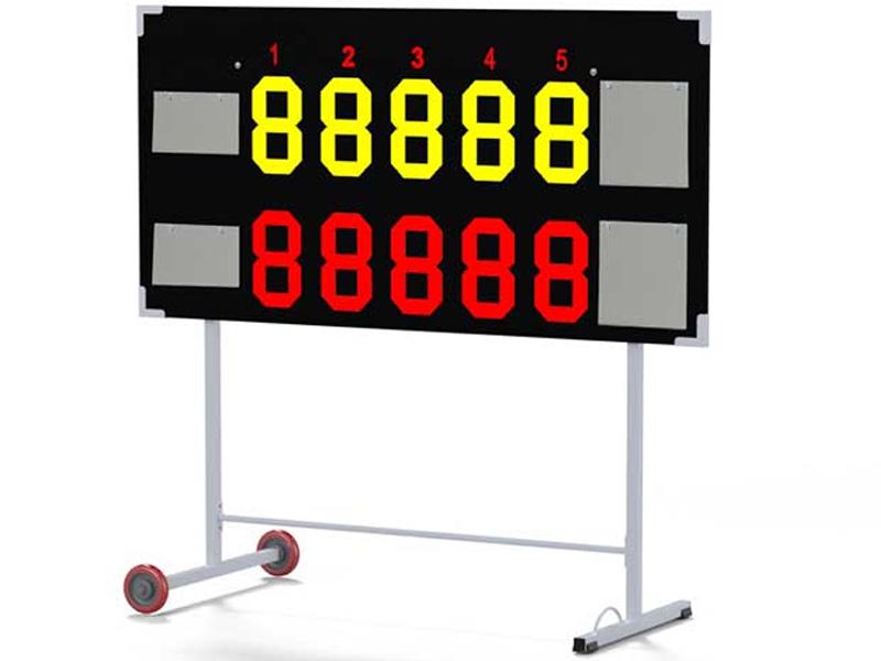 Hình ảnh bảng điểu tennis 5 set đấu Sodex S25650