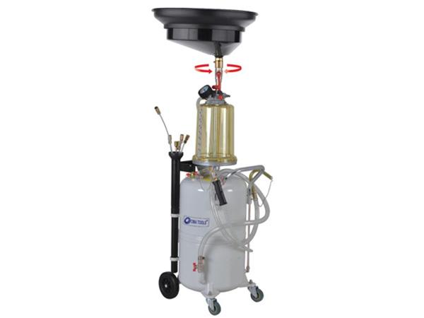 Hình ảnh  bình chứa và hút nhớt thải động cơ Omatools TOM657485