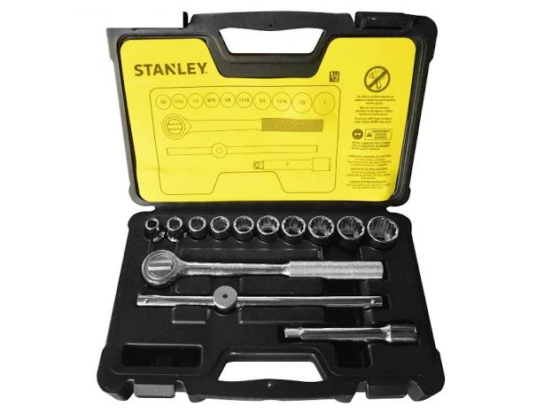 Bộ khẩu 14 chi tiết hệ mét Stanley 86-501