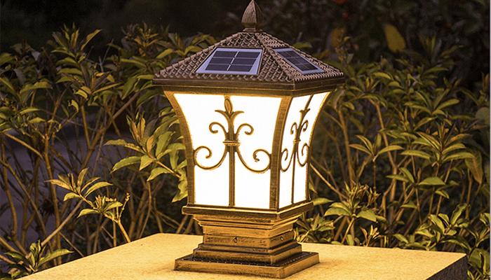 Thiết kế đèn sang trọng