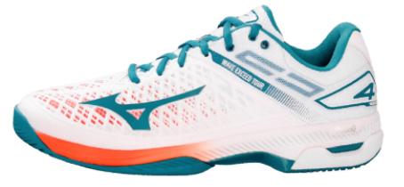 Giày màu trắng xanh