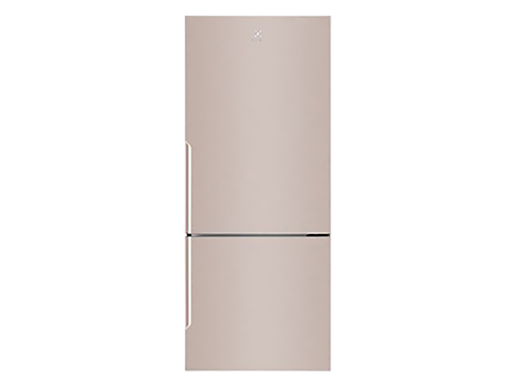 Tủ lạnh màu vàng hồng