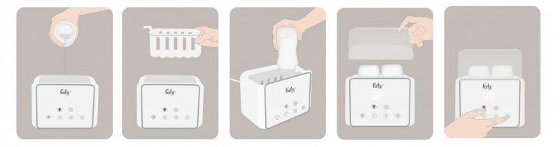 Các bước tiệt trùng bình sữa