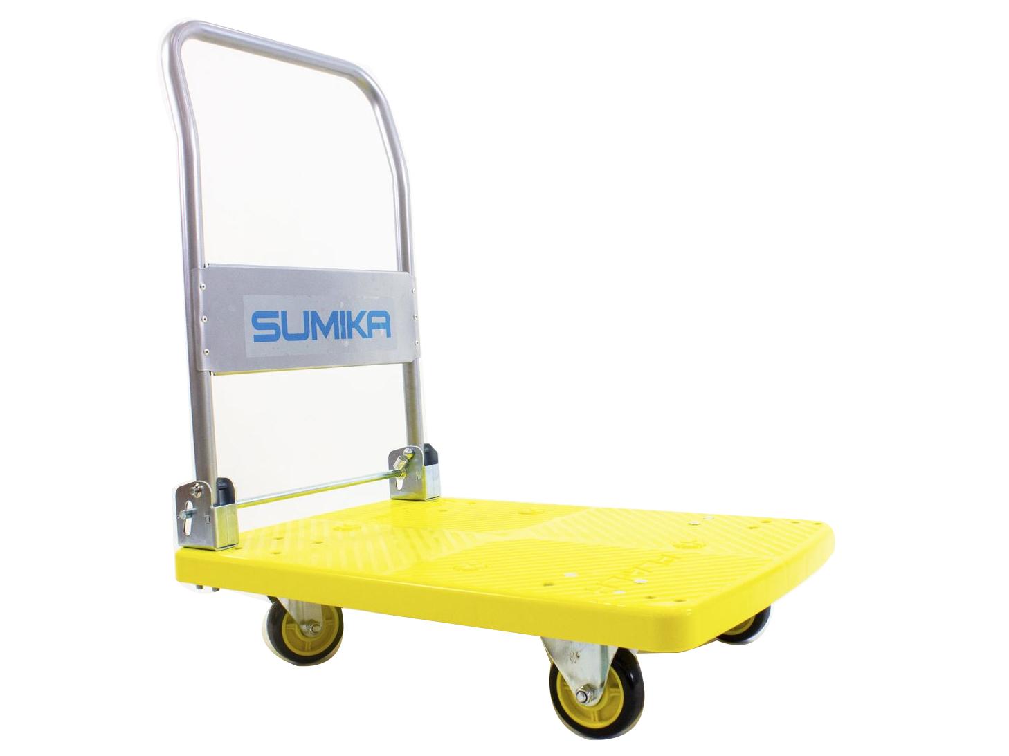 Xe đẩy hàng sàn nhựa Sumika T170