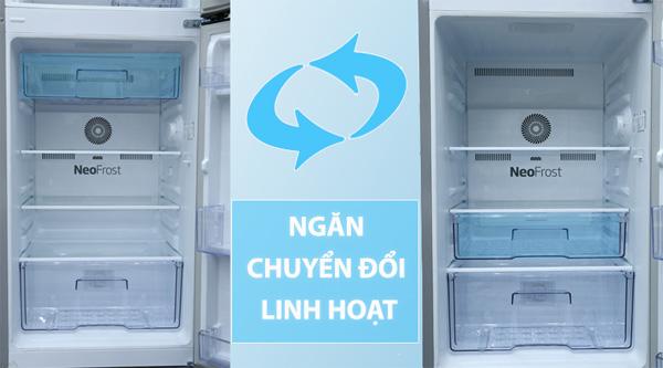 Tủ lạnh Beko Inverter 188 lít RDNT200I50VS