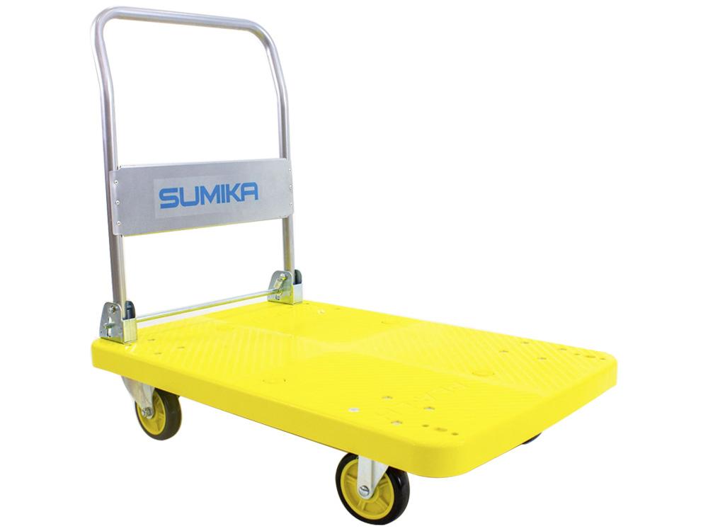 Hình ảnh xe đẩy hàng sàn nhựa Sumika T350