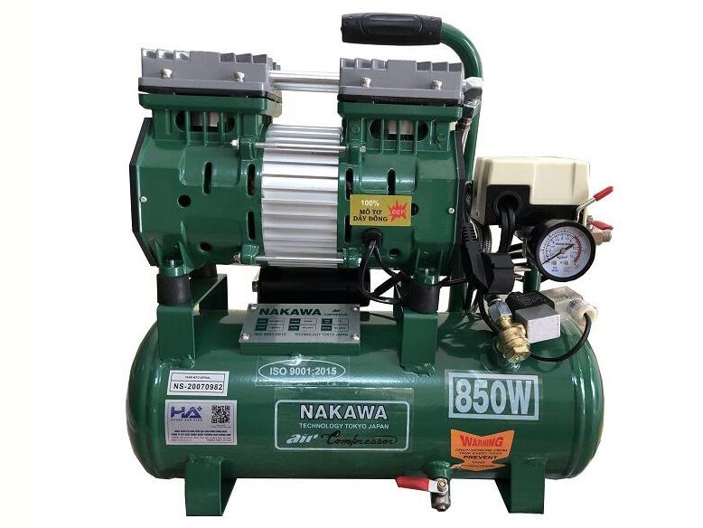 Máy nén khí không dầu Nakawa NK 800/30
