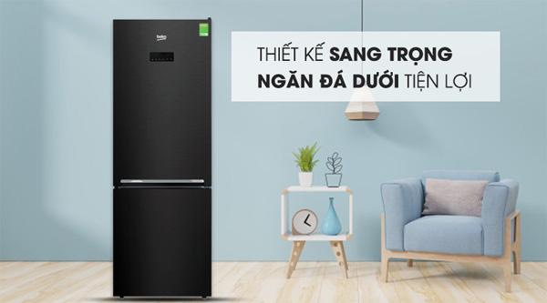Tủ lạnh Beko Inverter 323 lít RCNT340E50VZWB