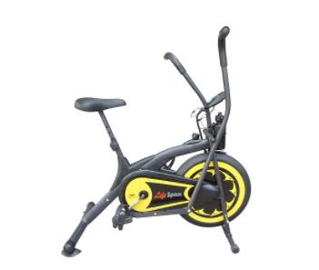 Xe đạp tập màu vàng