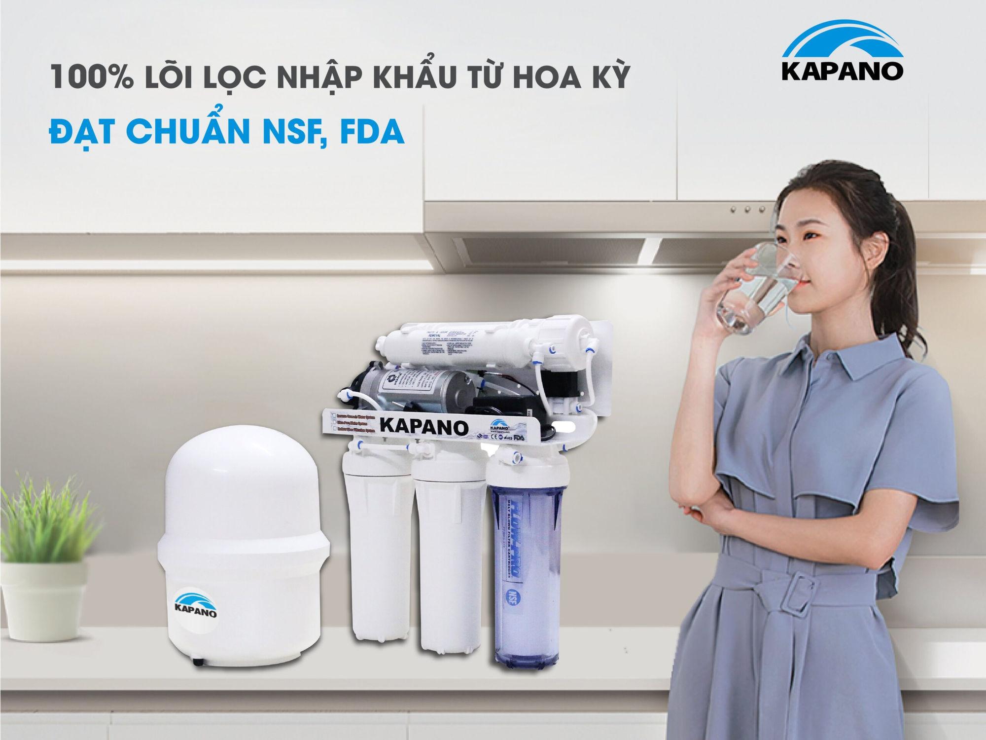 Máy lọc nước RO Kapano