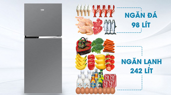 Tủ lạnh Beko 340 lít