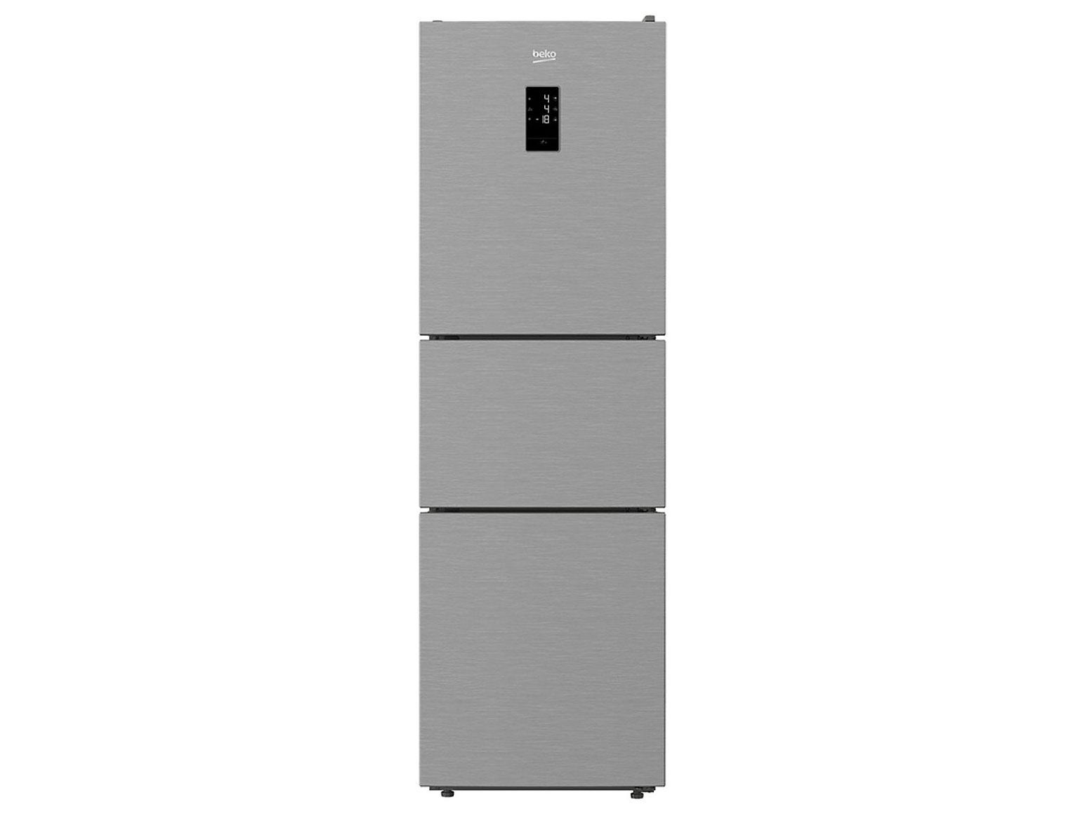 tủ lạnh 3 cánh Beko Inverter RTNT290E50VZX