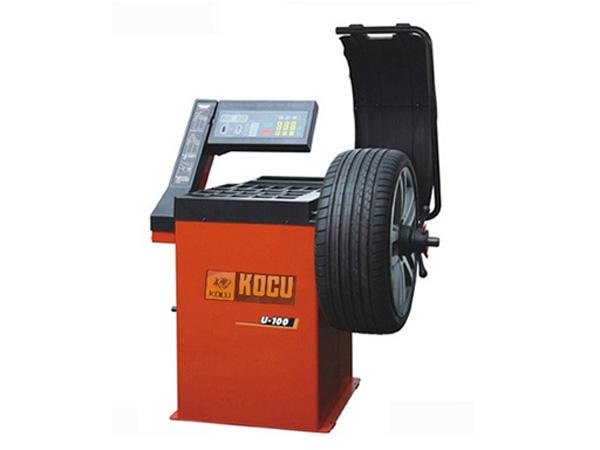 Hình ảnh máy cân bằng lốp xe du lịch ô tô Kocu U-120
