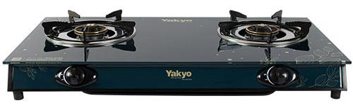 Bếp gas đôi dương kính Yakyo TP-390BG