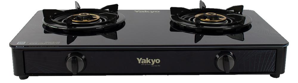 Hình ảnh bếp gas đôi dương kính Yakyo TP-389BG