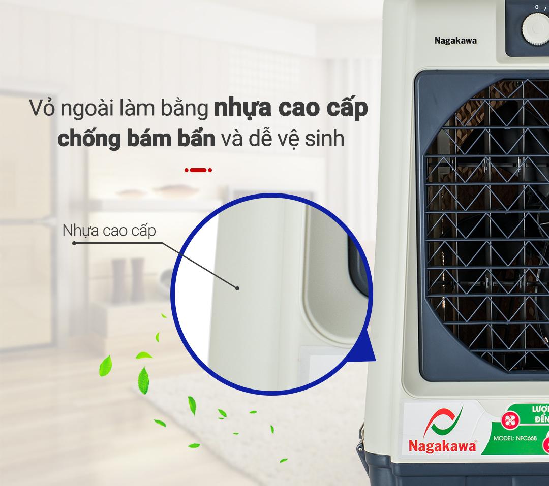 Vỏ máy bằng nhựa