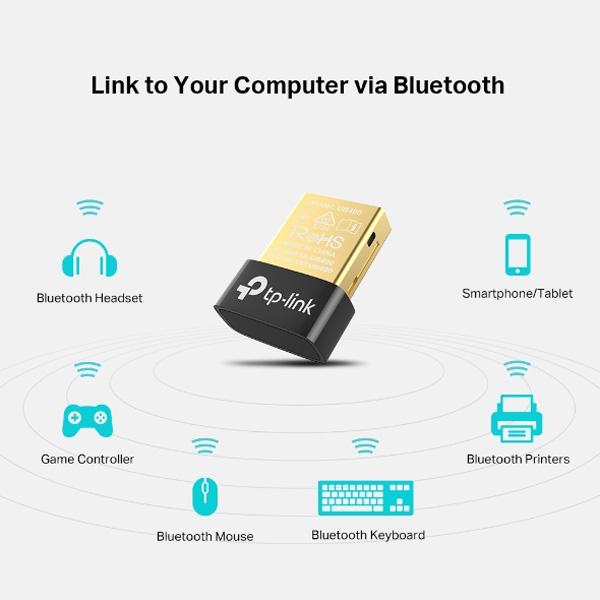 Thiết bị kết nối bluetooth 4.0 qua cổng usb TP-Link UB400
