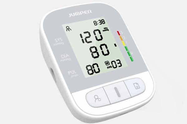 Hình ảnh máy đo huyết áp bắp tay Jumper JPD - HA210