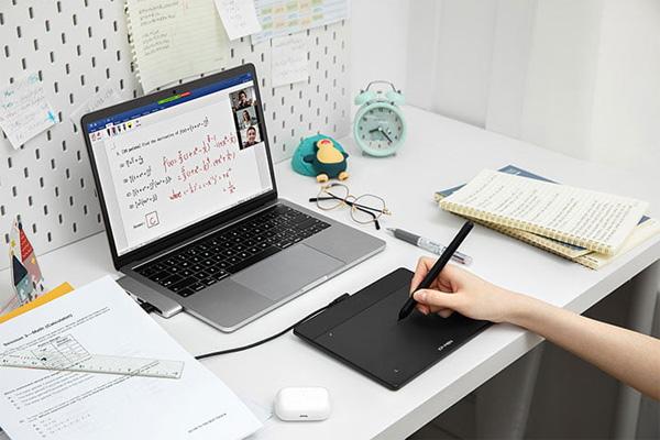 Bảng vẽ điện tử XP-Pen Deco Fun S 6X4 Inch Android cảm ứng nghiêng