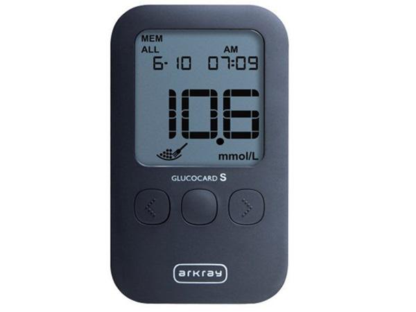 Máy đo đường huyết cá nhân Arkray Glucocard S (Gồm 10 kim 10 que)