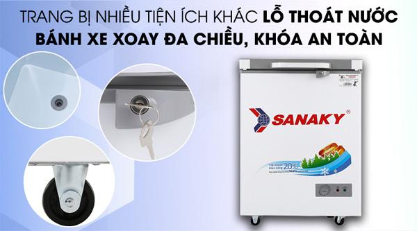 Tủ đông Sanaky 100 lít VH-1599HYK
