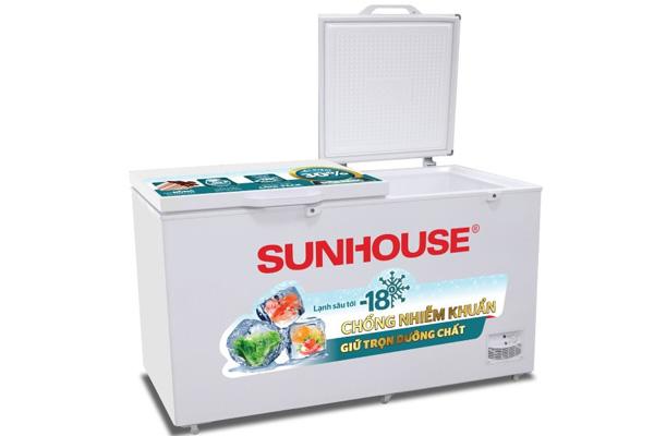 Tủ đông 2 ngăn 2 cánh Sunhouse SHR-F2272W2