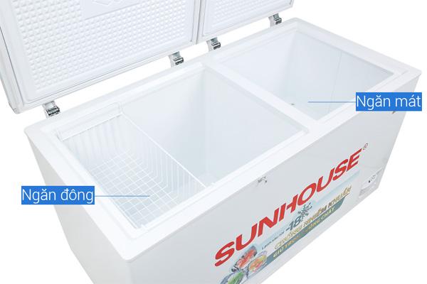 Tủ lạnh 2 ngăn 2 cánh sunhouse